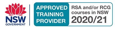NSW Government approved RCG/RSA courses