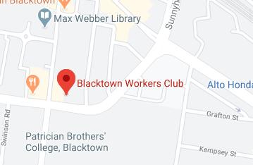 Catch Training Blacktown