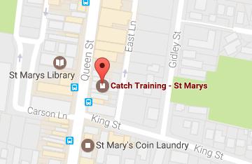 Catch Training St Marys